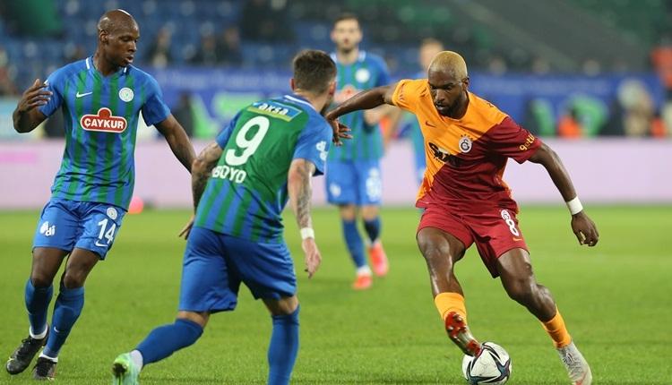 Çaykur Rizespor 2-3 Galatasaray maç özeti ve golleri (İZLE)