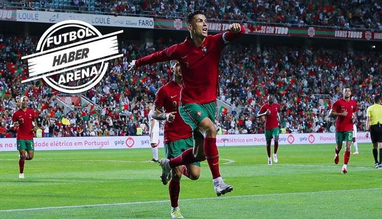 Cristiano Ronaldo'dan Portekiz formasıyla yeni rekor