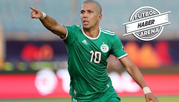 Feghouli'den Cezayir'de 2 maçta 1 gol 2 asist