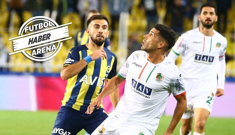 Fenerbahçe 1-2 Alanyaspor maç özeti ve golleri (İZLE)