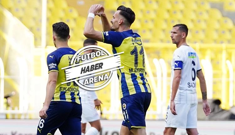 Fenerbahçe 2-1 Kasımpaşa maç özeti ve golleri (İZLE)