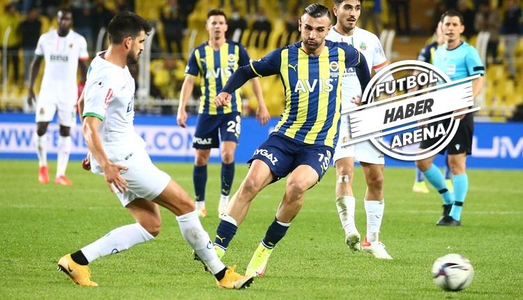 Fenerbahçe, Kadıköy'de Alanyaspor'a kaybetti (İZLE)
