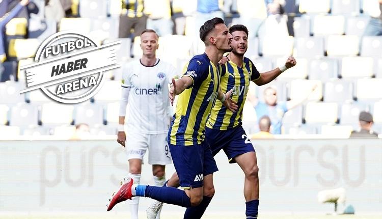 Fenerbahçe, Kadıköy'de Kasımpaşa engelini geçti (İZLE)