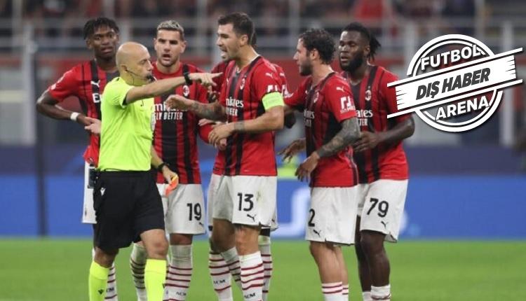 Flaş! Milan şikayet etti! Cüneyt Çakır'a ceza iddiası