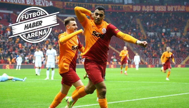Galatasaray, Konyaspor'u Mostafa Mohamed ile geçti (İZLE)
