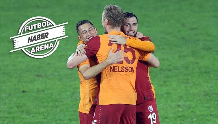 Galatasaray, Rize'de son dakika golüyle kazandı (İZLE)