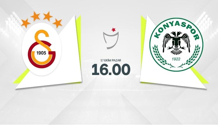 Galatasaray-Konyaspor canlı izle, Galatasaray-Konyaspor şifresiz izle (Galatasaray-Konyaspor beIN Sports canlı ve şifresiz İZLE)