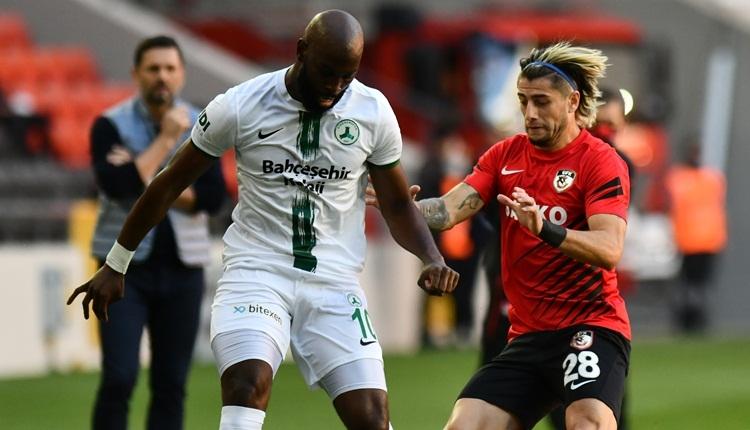 Gaziantep FK 1-1 Giresunspor maç özeti ve golleri (İZLE)