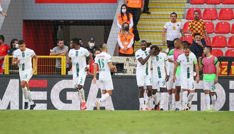 Göztepe 0-1 Giresunspor maç özeti ve golü (İZLE)