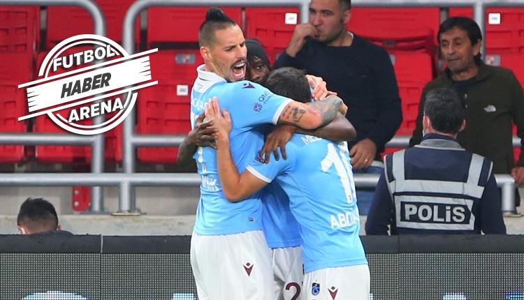 Göztepe 0-1 Trabzonspor maç özeti ve golü (İZLE)