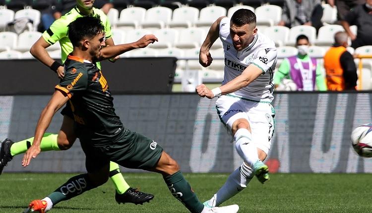 Konyaspor 1-1 Alanyaspor maç özeti ve golleri (İZLE)
