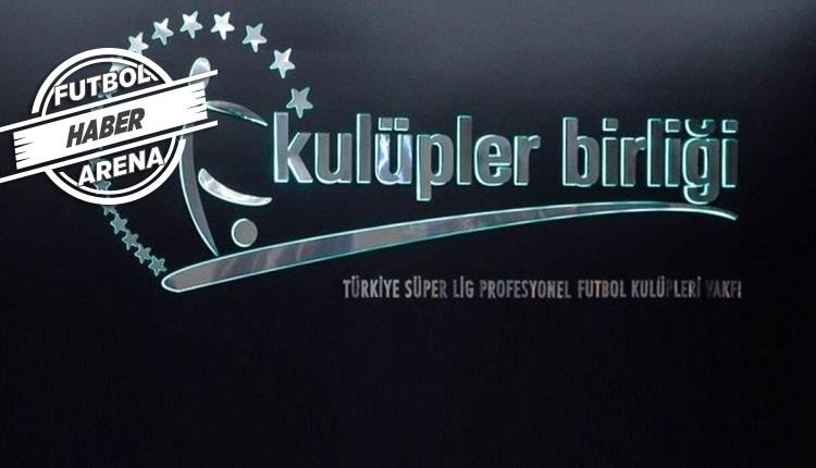 Kulüpler Birliği toplantısı! 'Serdar Tatlı'nın istifası konuşulmadı'