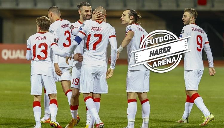 Letonya 1-2 Türkiye maç özeti ve golleri (İZLE)