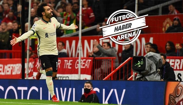 Manchester United 0-5 Liverpool maç özeti izle (Salah şov)