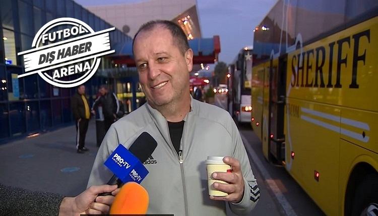 Sheriff'in hocası Barcelona'ya!