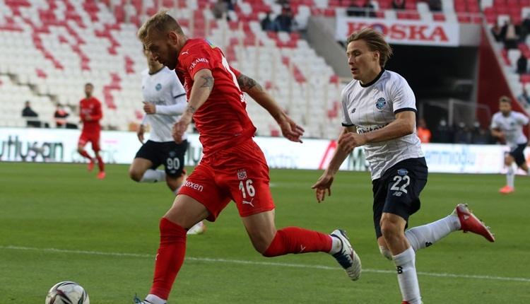 Sivasspor 1-1 Adana Demirspor maç özeti ve golleri (İZLE)