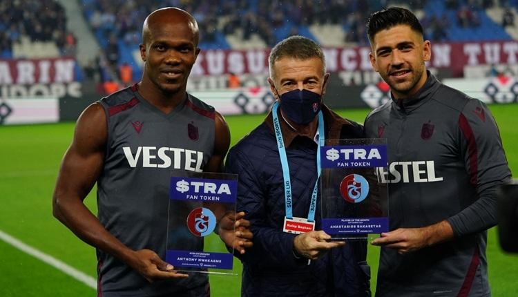 Trabzonspor ayın oyuncusu ödülleri belli oldu