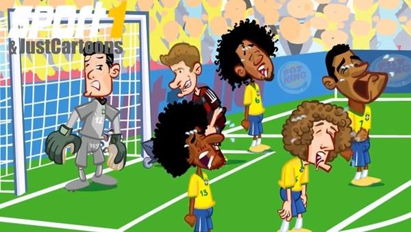Brezilya Defansı Maç Esnasında Gözyaşlarına Boğuldu! İşte O Anlar...