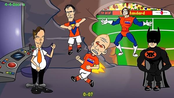 Nefes kesen penaltılar çizgi film oldu!