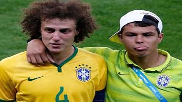 David Luiz tarihi maç sonrası hüngür hüngür ağladı!
