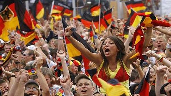 Almanya'da şampiyonluk sevinci...