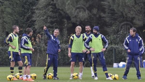 Fenerbahçe'de Balıkesirspor maçı hazırlıkları