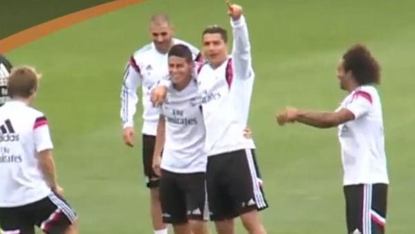 James'in kabusu Ronaldo