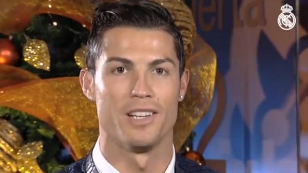 Ronaldo'dan christmas mesajı