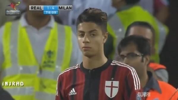 Milan'ın genç yıldızı takıma ısınıyor!...
