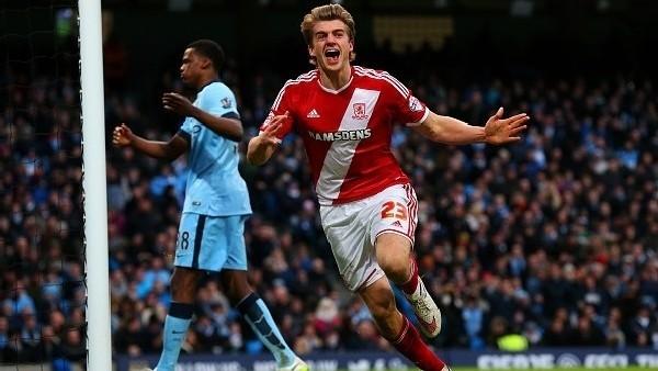 Manchester City 0-2 Middlesbrough - Maç Özeti (24.1.2015)