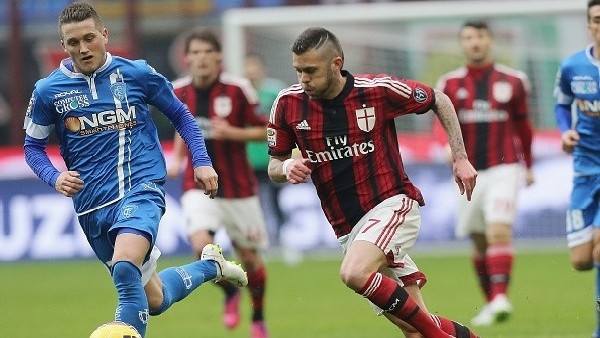 Milan 1-1 Empoli - Maç Özeti (15.2.2015)