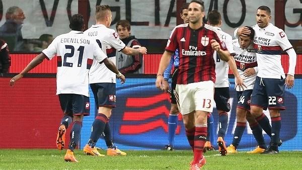 Milan 1-3 Genoa - Maç Özeti (29.4.2015)