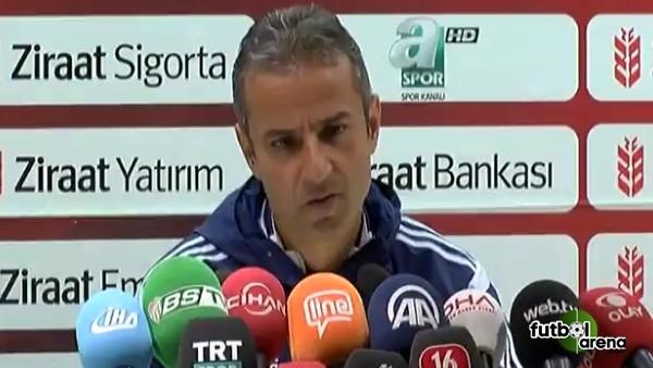 İsmail Kartal: 'Saklanarak maça gidiyoruz'