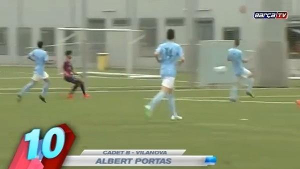 Barcelona'lı çocuklardan müthiş goller