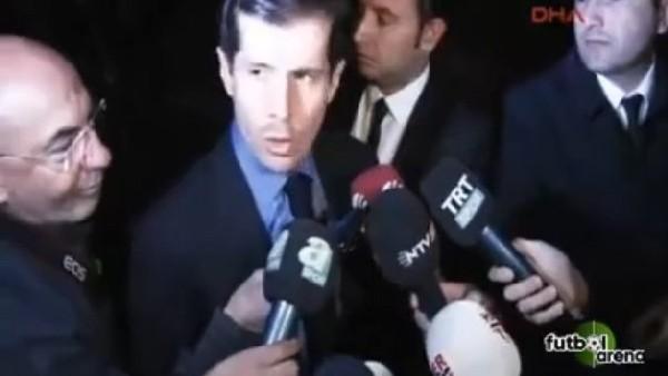 Emre Belözoğlu, Toplantının Ardından Konuştu