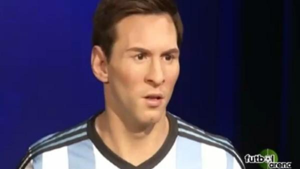 Messi'nin Balmumu Heykeli Tanıtıldı!