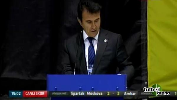 Fenerbahçe Başkan adayı Hulusi Belgü konuştu