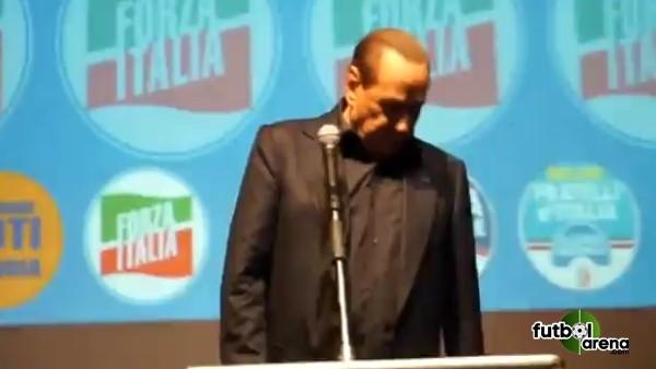 Silvio Berlusconi fena rezil oldu
