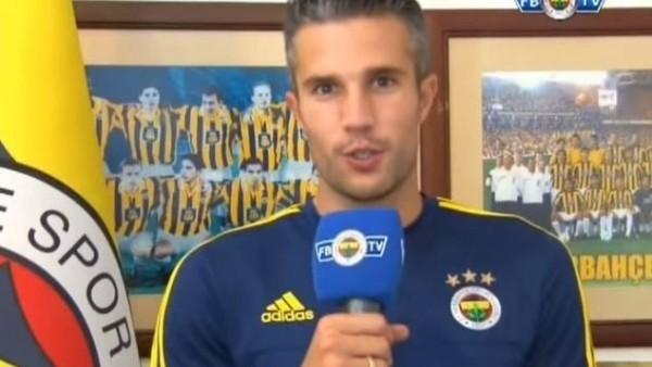 Van Persie ve Nani, Fenerbahçeliler gününü kutladı