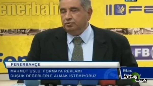 Mahmut Uslu'dan Galatasaray'a tişört eleştirisi