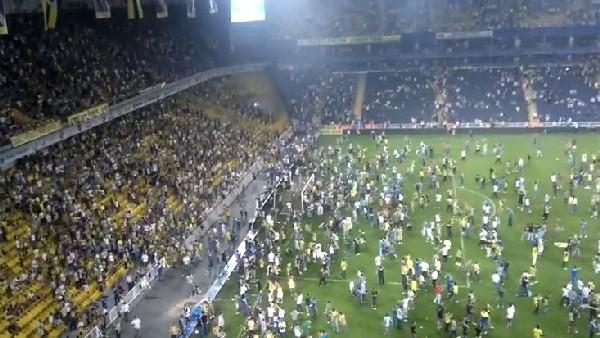 Saracoğlu'ndaki Shakhtar maçında olaylar çıkmıştı