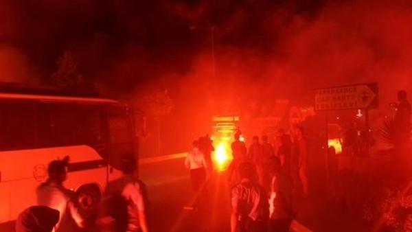 Fenerbahçe'ye Samandıra'da destek