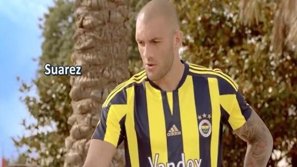 Fenerbahçe Yandex'in Fernandao'lu Suarez reklamı