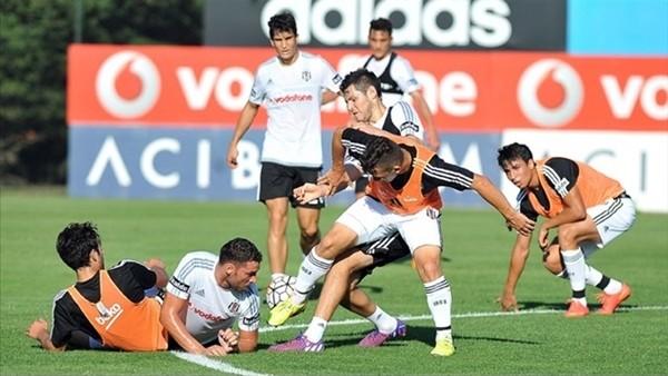 Beşiktaş, Medipol Başakşehir maçının hazırlıklarını sürdürdü