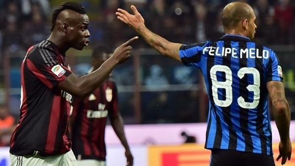 Balotelli ve Melo birbirine girdi