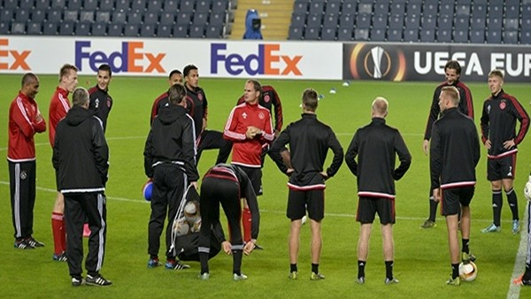 Ajax, Fenerbahçe maçına hazır