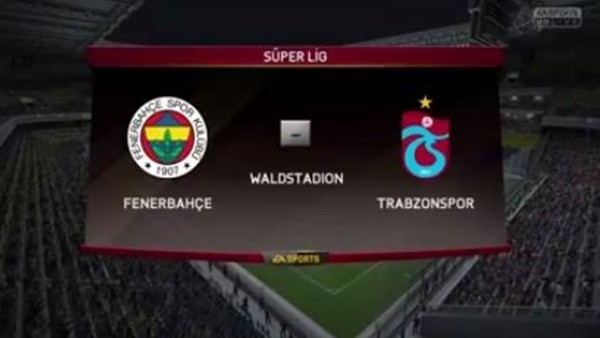 Fenerbahçe ile Trabzonspor FIFA 16'da kapıştı