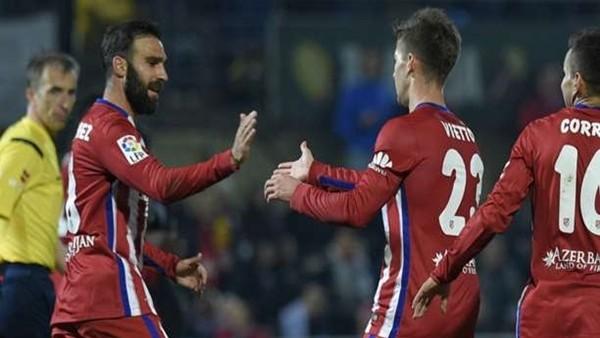 Reus 1-2 Atletico Madrid - Maç Özeti (1.12.2015)