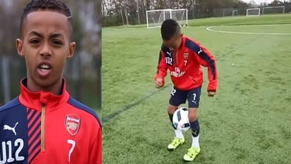 Genç Arsenal'li büyülüyor