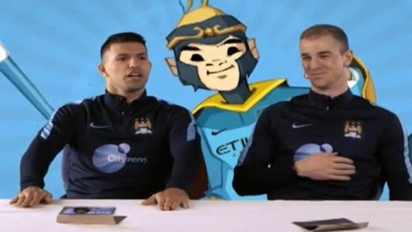 Manchester City'li futbolcular Çin yemeklerini denedi